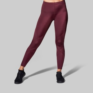 CW-X Stabilyx Joint Support Compression Tight - Best Leggings for Running: Abdominal Panel to Provide Extra Support