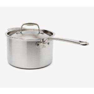 Made In Stainless Clad Saucepan - Best Saucepan Stainless Steel: Induction Compatible