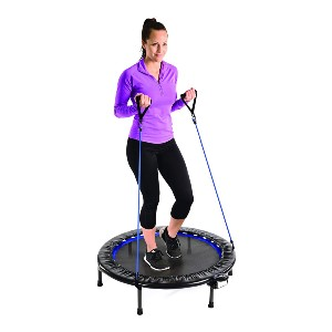Stamina 38-Inch Intone Plus Rebounder  - Best Trampoline for Kids and Adults: Built-in fitness tracker