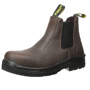 Stanley Men's Dredge Steel-Toe Work Boot - Best Safety Shoes for Plantar Fasciitis: Stylish Work Boots
