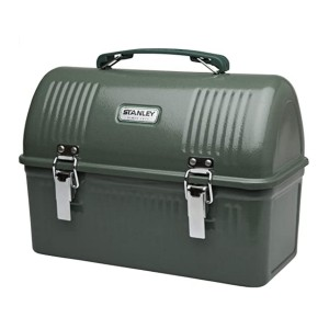 Stanley Classic 10qt Lunch Box - Best Lunch Cooler for Construction Workers: Iconic design
