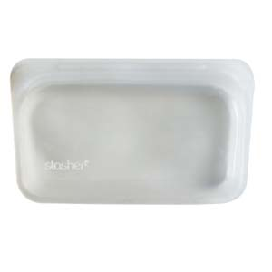 Stasher Reusable Silicone Sandwich Bag - Best Food Storage Container: Use it for a daily basis