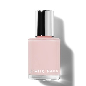 Static Nails LIQUID GLASS LACQUER SOFT GLOW - Best Nail Gel Colors: Delicate Soft Pink