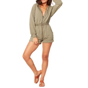 L SPACE Stay Cool Cover-Up Romper - Best Romper for Long Torso: Throw-it-on-and-go