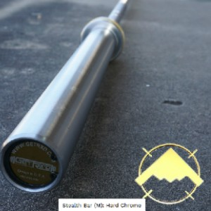 Get RXd Stealth Bar (Men): Hard Chrome (OBCMG8-86HC) - Best Barbell for Crossfit: Impeccable spin