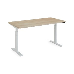 Steelcase Solo Sit-To-Stand Desk - Best Standing Desk for Home Office: Simple Stand Desk