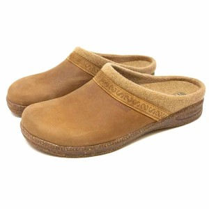 Stegmann Men's Halstatt Wool Lined Leather Clog - Best Wool Clogs: Anatomically Shaped Footbed Clogs