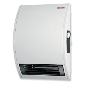Stiebel Eltron Wall Mounted Electric Fan Heater - Best Space Heater for Bathroom: Wall-mounted heater with thermostat