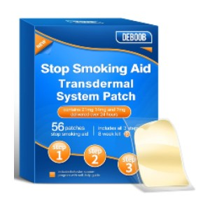 DEBOOB Stop Smoking Patch - Best Nicotine Patches: Discreet and Gentle on the Skin