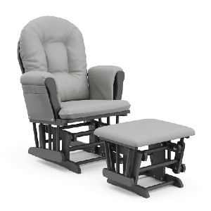 Storkcraft Hoop Glider and Ottoman Cushions - Best Gift for Mom Birthday Under 500: Lounging all day