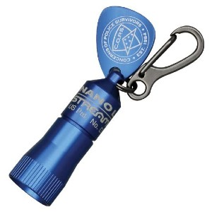 Streamlight Keychain LED Flashlight - Best Keychain for Men: Includes Both Elastic and Rubber Head Straps