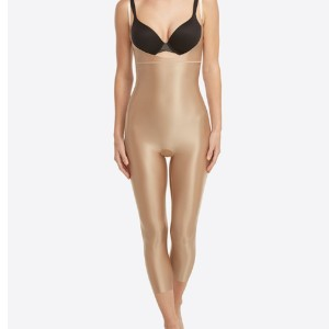 Spanx Suit Your Fancy Open-Bust Catsuit - Best Bodysuits for Plus Size: Lightweight, Sleek Shaping for Flawless Finish