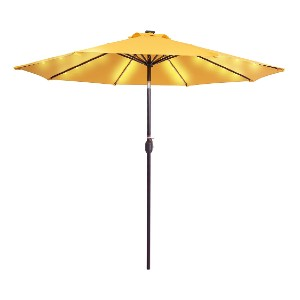 Sundale Outdoor Solar Powered 32 LED Lighted Patio Umbrella - Best Price Patio Umbrella: Creates a romantic atmosphere