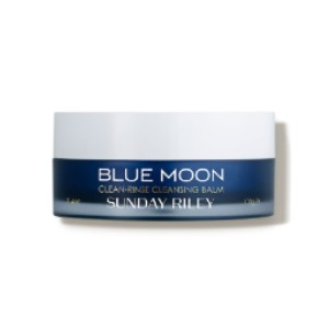 Sunday Riley Blue Moon Clean-Rinse Cleansing Balm - Best Makeup Cleansing Balms: Cleansing Balm Tested Safe for Eyes
