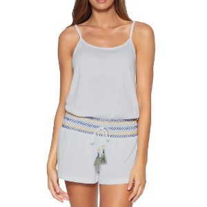 SOLUNA Sunset Smocked Cover-Up Romper - Best Casual Jumpsuit: Best for lounging