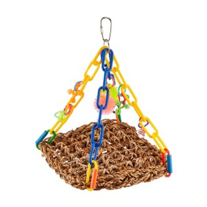 Super Bird Creations Mini Flying Trapeze Toy - Best Bird Toys for Parakeets: Exercise with fun