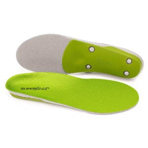 Superfeet Unisex-Adult Green Professional-Grade High Arch Orthotic Shoe Inserts  - Best Insoles for Plantar Fasciitis: Unique Features Insole