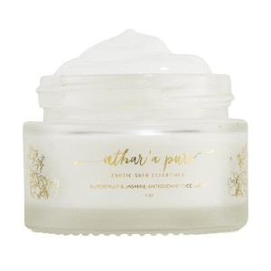 Athar'a Pure Superfruit & Jasmine Antioxidant Face Moisturizer - Best Anti Aging Cream Natural: 100% Natural, Vegan and Cruelty free