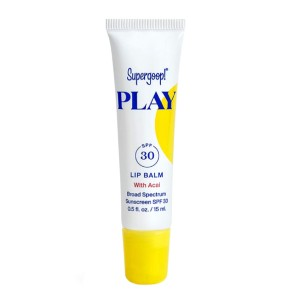 Supergoop!® PLAY Lip Balm SPF 30 with Acai - Best Lip Balm for Winter: Lip Balm with SPF