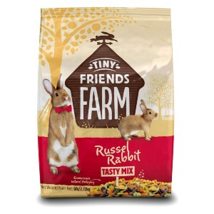 Supreme Petfoods Tiny Friends Farm Russel Rabbit Food - Best Rabbit Food for Baby Rabbits: Well-Balanced Meal