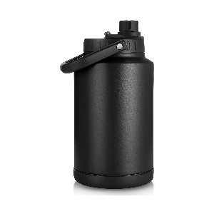 Sursip Vacuum Insulated Water Jug - Best 1 Gallon Stainless Steel Water Jugs: Jug with Vacuum Thermo-Insulated Design