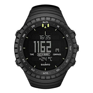 Suunto Core All Black Military Watch - Best Durable Watches for Construction Workers: Supports your exploration