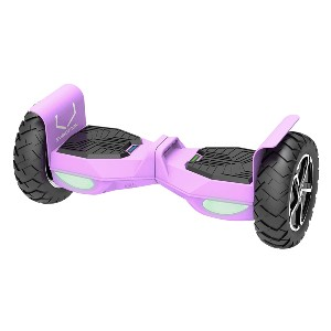 Swagtron Swagboard Outlaw T6 Off-Road Hoverboard  - Best Hoverboard Off Road: Handles more than 400 lbs