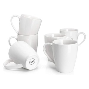 Sweese Porcelain Mugs - Best Porcelain Coffee Mugs: Comfy in the hand