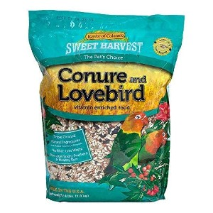 Sweet Harvest Kaylor of Colorado Conure Lovebird Food - Best Food for Love Birds: For Longer and Healthier Life