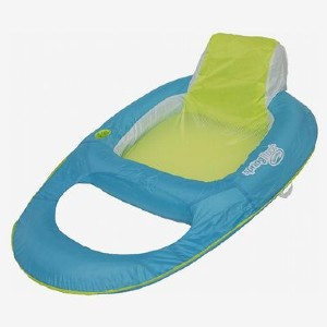 SwimWays Spring Float Recliner - Best Floats for Adults: Durable swim lounger