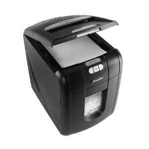 Swingline Stack-and-Shred1757571D - Best Heavy Duty Shredders: Operates at a Comfortable 60dB Noise Level