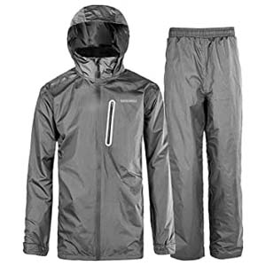 SwissWell Rain Suit for Men - Best Raincoats for Hiking: Simply perfect for hiking at an affordable price