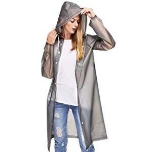 Sycle circle Reusable Transparent Raincoat - Best Raincoats for Disney: Stay dry, stay chic