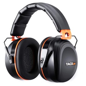 TACKLIFE Ear Muffs Noise Reduction - Best Shooting Hearing Protection: Suitable for Various Occasions