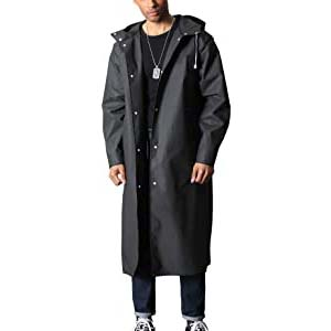 TACVASEN Men's Long Raincoat - Best Raincoats for Men: Long enough to keep your feet dry