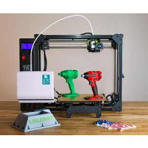 LulzBot TAZ Workhorse - Best 3D Printers for Miniatures: High-Performance 1.75mm Multi-Material Bundle