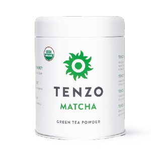 Tenzo  Organic Matcha - Best Tea for Headaches: Help Concentration and Focus