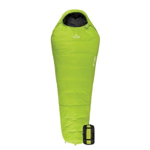 TETON Sports Leef +20 Ultralight Mummy Bag - Best Synthetic Sleeping Bags for Backpacking: Lightweight and packable
