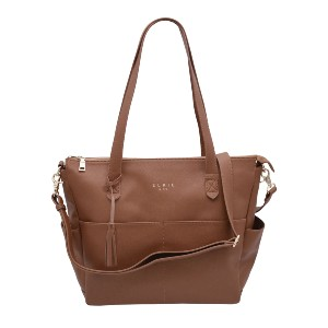 Elkie & Co. The Aberdee - Best Tote Bags for Moms: Removable Interior Lining