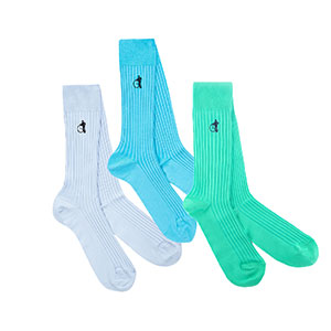 LONDON SOCK COMPANY THE BLUE - Best Socks for Men: Vibrant and Vivid Blue Colour