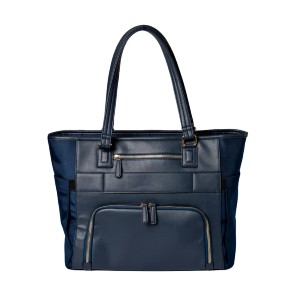 Minkeeblue THE ELLA TOTE 2.0 - Best Tote Bags for Moms: Two Points of Entry to Access Bag Contents