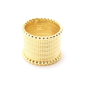 omi woods THE ILE IFE Ring - Best Jewelry for One Shoulder Dress: Solo or team? You decide!