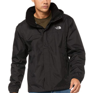 The North Face Men's Resolve Waterproof Jacket - Best Raincoats for Hot Weather: Rain jacket with detachable hood