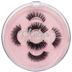 Lotus THE SHORTY SET - Best Lashes for Almond Eyes: Create Glamorous Picture Perfect Eyes