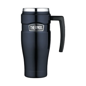 Thermos Stainless King Travel Mug - Best Coffee Travel Mugs with Handle: Ultra-durable construction