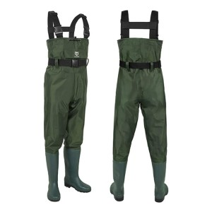 TideWe Bootfoot Chest Wader - Best Waders for Women: Comes with waterproof phone case