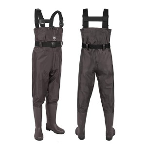 TideWe Bootfoot Chest Wader - Best Bootfoot Waders: Comes with waterproof phone case