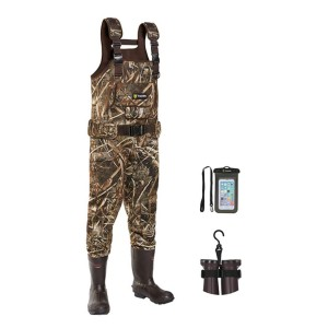 TideWe Chest Waders Realtree MAX5 Camo  - Best Chest Waders for Fishing: Solid and durable material