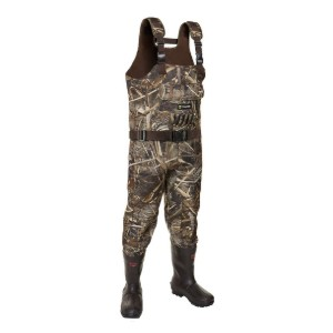 TideWe Realtree MAX5 Camo with 800G Insulation - Best Waders for Duck Hunting: Great insulation!