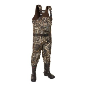 TideWe Realtree MAX5 Camo - Best Bootfoot Waders: Comfy with or without socks